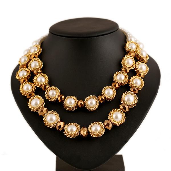 Imitation Gemstone Jewelry Collares 2015 Pearl Luxury