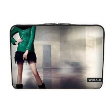 WOFALO 9.7-10.6 Inch Netbook Laptop Bag Case Sleeve Cover for Wearing a down jacket Slim beauty(China (Mainland))