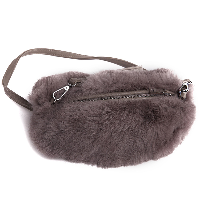 2016 New designer Fluffy feather Women clutch Genuine fur bag purse with band Small Messenger Bags Crossbody Purse Fur Bags(China (Mainland))
