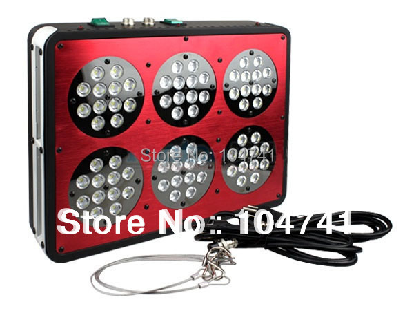 Promotion!DHL Free Shipping Apollo 6 216w Led aquarium light, Apollo 6 Led tank light bottom price(China (Mainland))