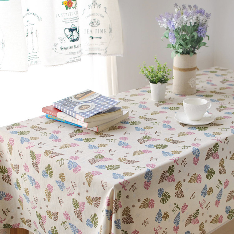 Simple and Stylish Coffee Table Tablecloths Cotton and Linen Table Cloth Household Supplies Table Cover Cloth FL1250(China (Mainland))