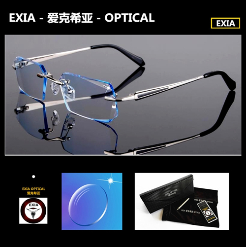 Fashion Glasses Men Business Style Rimless KD-136 SeriesОдежда и ак�е��уары<br><br><br>Aliexpress