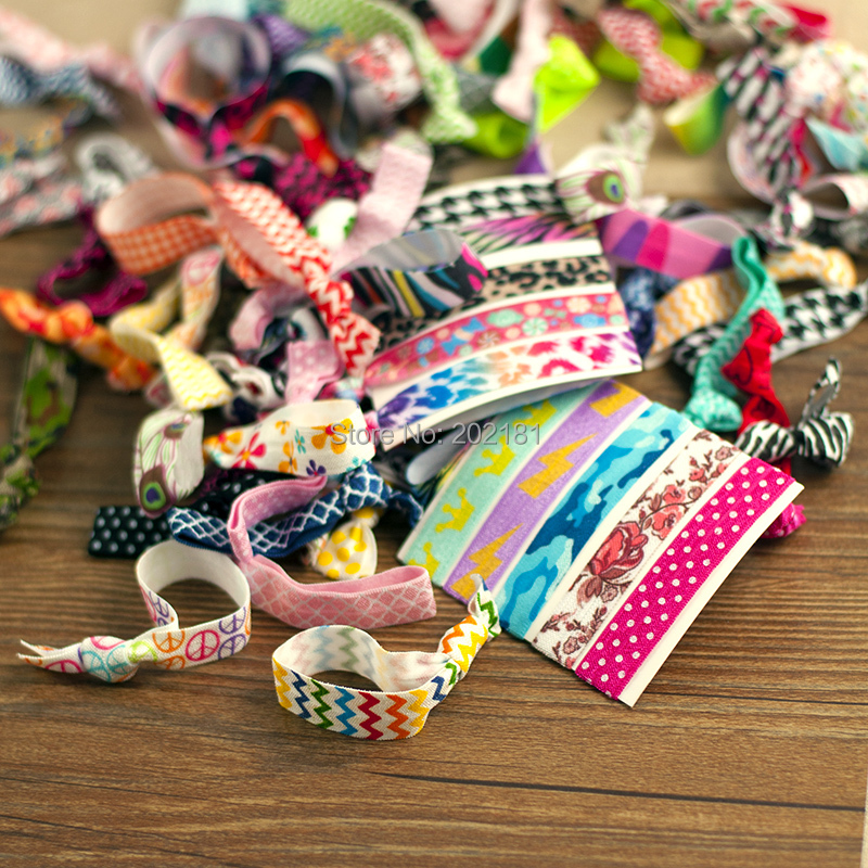 20pcs/lot Goody Ouchless Ribbon Elastics Hair Bands-Girls Women's Hair Accessories Emi Jay Like Elastic Yoga Hair Ties(China (Mainland))