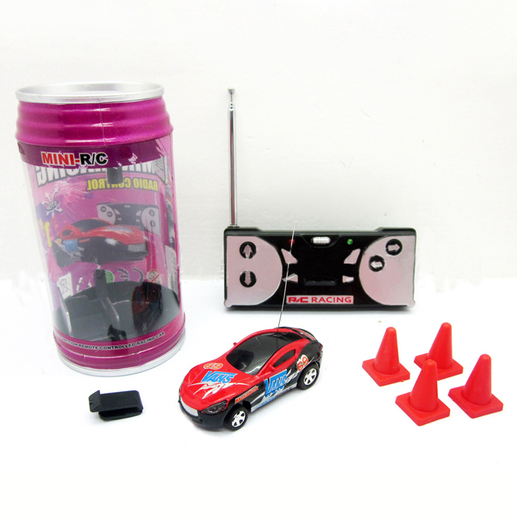 multicolor coke can mini speed rc remote control micro racing car vehicle gift good quality free. Black Bedroom Furniture Sets. Home Design Ideas