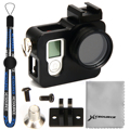 Aluminium Frame Protective Housing Case Shell 37mm UV CPL Filter FOR GoPro Hero 4 OS271