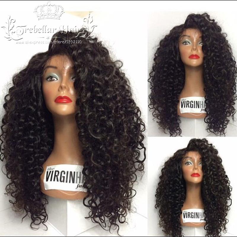 Гаджет  Brazilian Kinky Curly Full Lace Wig Human Curly Hair Beyonce Lace Wigs Curly Human Hair Full Lace Human Hair Wig For Women None Волосы и аксессуары