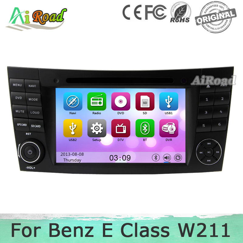 HD 1080P Car Radio for Mercedes W211 Benz E Class CLS Class E280 CLS350 W219 W463 GPS Navigation Car DVD Stereo Radio Audio USB(China (Mainland))