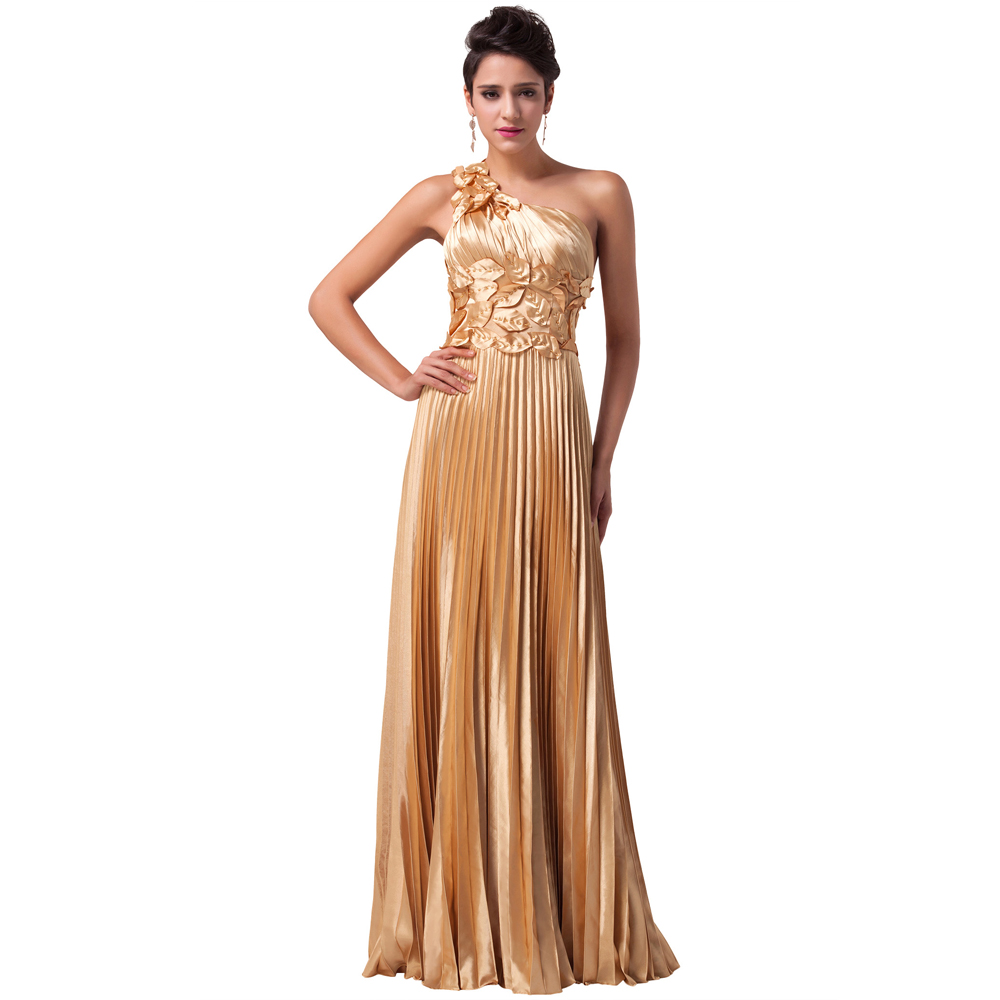 Images of Gold Long Prom Dresses - Reikian