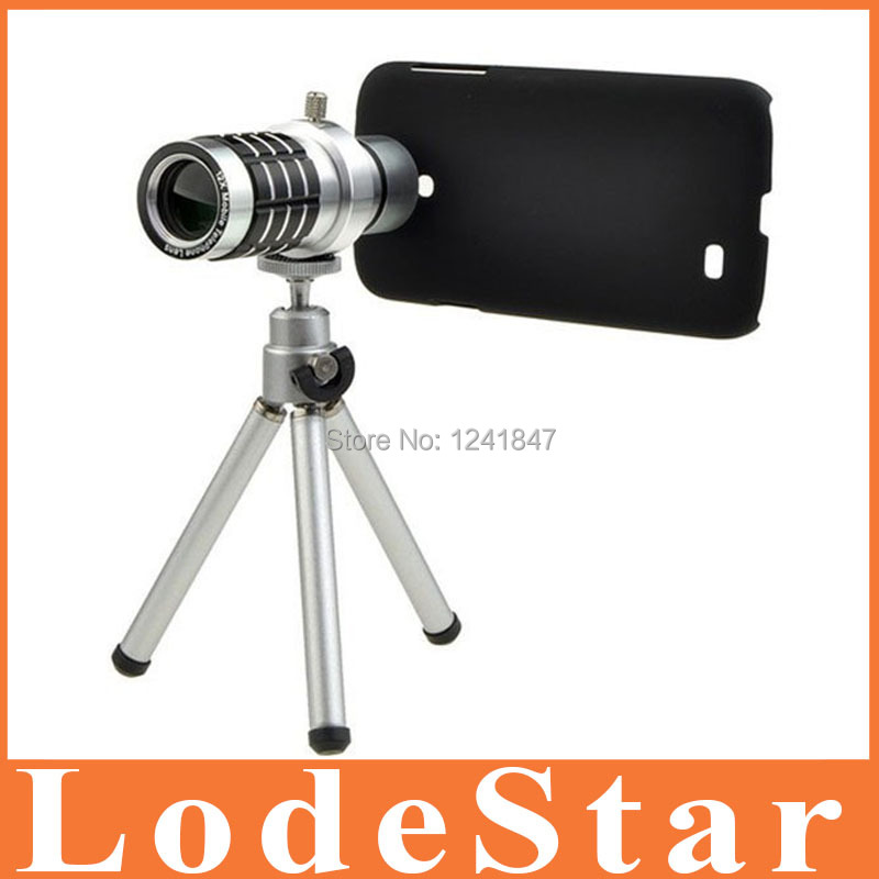 New mobile phone 12X Zoom telescope Lens for Iphone 6 5s 4 Samsung Galaxy S6 S4 i9500 Optical Zoom Manual Focus Telephoto Lens