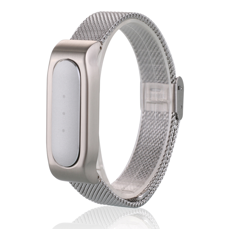2016 New Teamyo Metal Strap &amp; Protective Shell for Xiaomi Mi Band 1S 1A, Milanese Loop Design for Mi Band (host not include)<br><br>Aliexpress