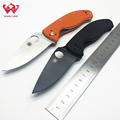 WLT C122 Folding Knives Carry Tactical Kinfe 8CR13MOV Blade G10 Handle Hunting Camping Survival Pocket Knife
