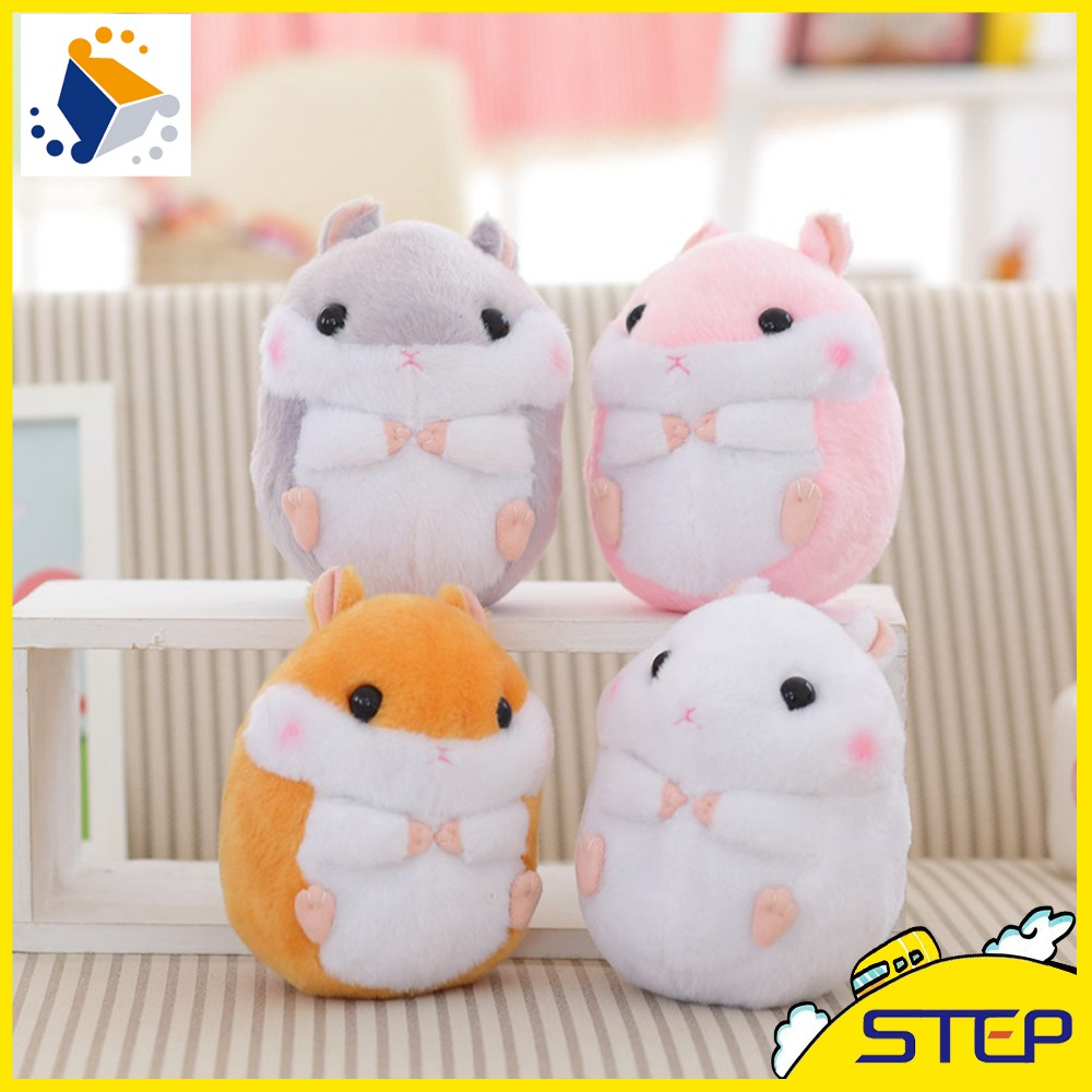 2016 New Free Shipping Four Colors Hamster Plush Toy Hot Cute Mouse Stuffed Animal Toy for Children Kids Baby ST357(China (Mainland))