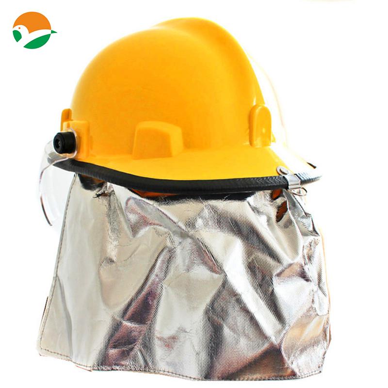 Firefighting glass fiber helmet used for fireman