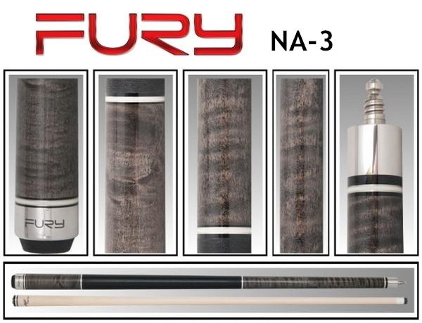 FURY CUE NA-3 billiard pool cue 12.75mm cue tips 9 ball snooker cues billiard stick taco de sinuca billar free shipping(China (Mainland))