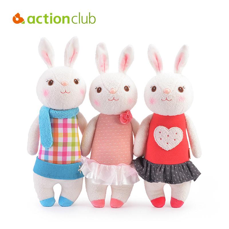 Kawaii Metoo Plush Toys Plush Rabbit Cartoon Dolls Baby Plush Dolls Newborn Kids Stuffed Plush Kids Toys HT3196(China (Mainland))