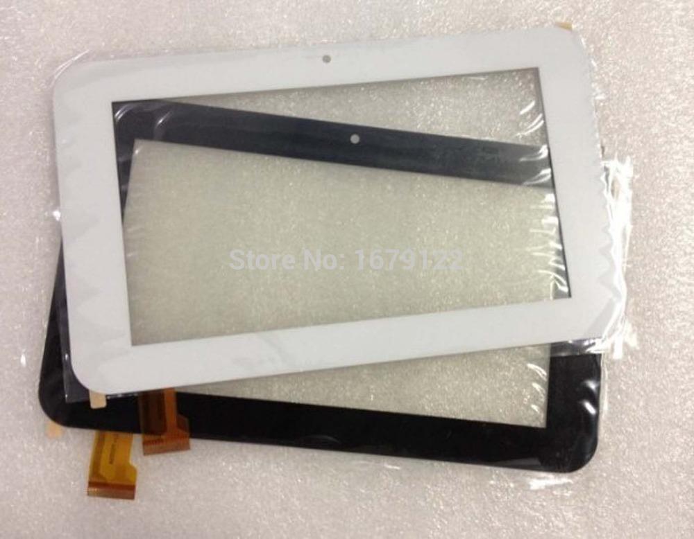 Free Shipping 5PCS/LOT Original 7'' Touchscreen Digiziter ZJ-70055 Tablet AMPE A76 Sanei N77 TPC0185 External Glass Sensor(China (Mainland))