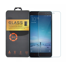 Amazing 9H 0.3mm 2.5D Nanometer Tempered Glass screen protector for XIAOMI REDMI NOTE 2 4G LTE HONGMI NOTE2