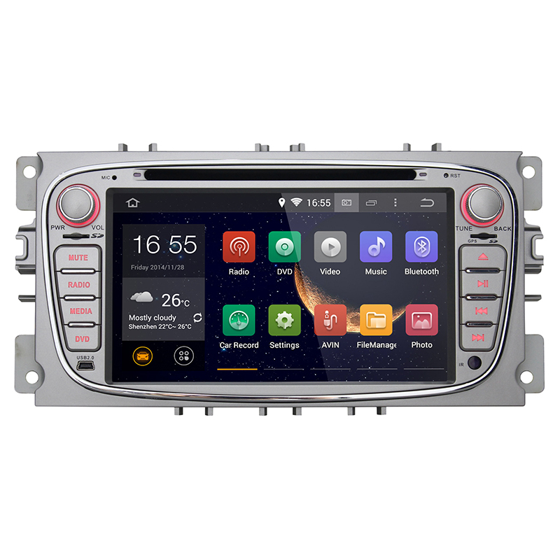 1 year warranty+hot sale+wholesale/retail+2 din android 4.4 car dvd gps+7 inch+ Capacitive Touch+canbus(China (Mainland))