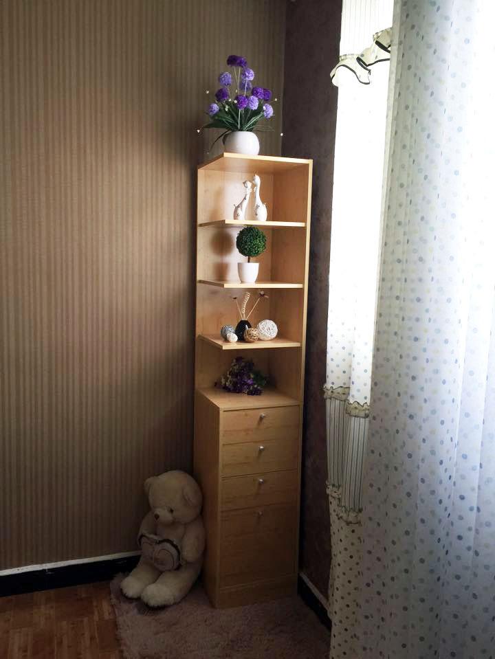 Hoekkast hoekkast bar lockers side badkamer wc woonkamer plank opbergkast(China (Mainland))