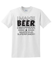 Buy Make Beer Disappear What's Superpower Mens Novelty Funny T-Shirt for $12.55 in AliExpress store