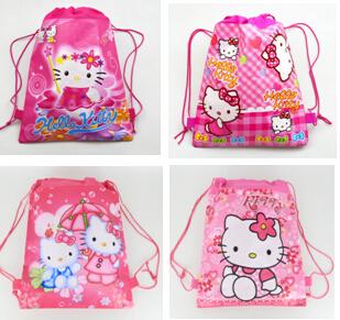 2015school bags kids cartoon drawstring backpack& bag For kids bag back to school mochila infantil-3
