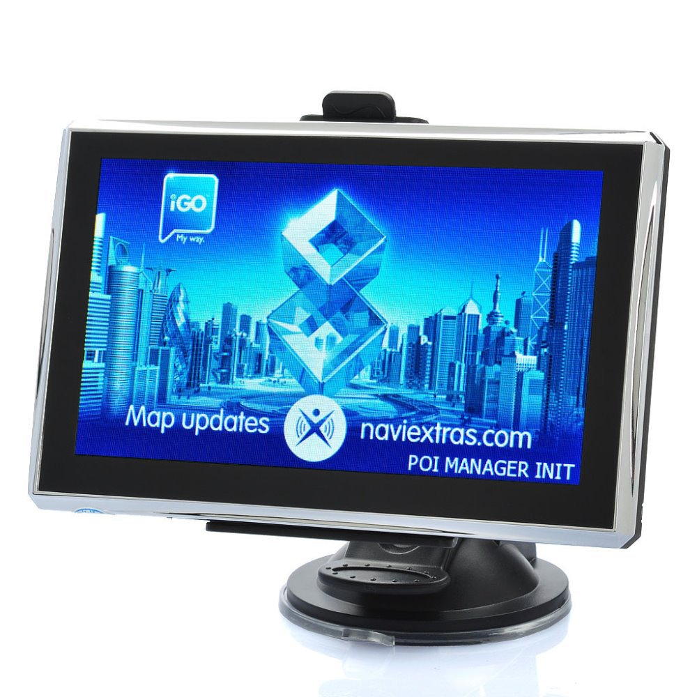 """5.0"""" Touch Screen Win CE 6.0 Portable Car GPS Navigator w/ FM - US / Canada Map (4GB)(China (Mainland))"""