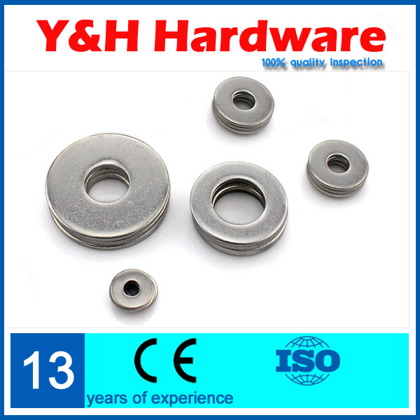 Hot 1# Flat washer 50pcs/lot M1.6*4*0.3 304 stainless steel ring washer<br><br>Aliexpress