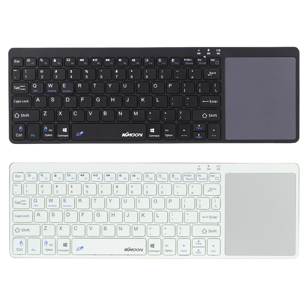 Kkmoon Portable Ultra Slim Thin Bluetooth 3.0 Wireless Keyboard with Touchpad for iPhone 7 6s/iPad Pro/MacBook Phone Tablet PC(China (Mainland))