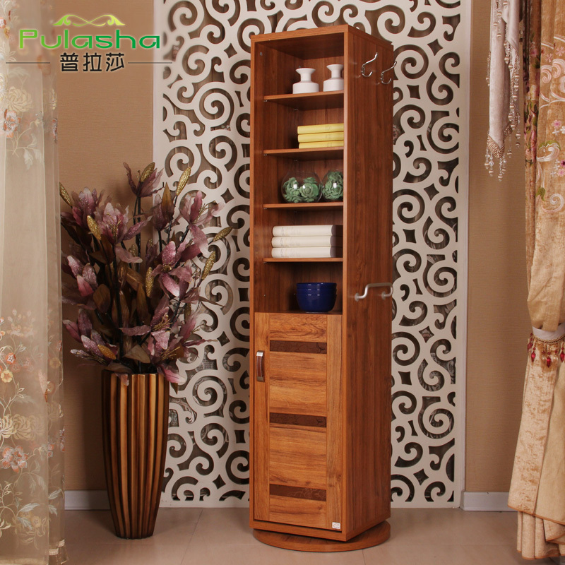Pula Suo wooden multifunction hall cabinet shoe slim 360 rotation dressing mirror Geduan hall locker(China (Mainland))