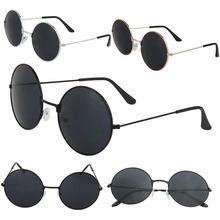 2016 мода новый урожай женщины мужчины стиле ретро круглые очки стимпанк солнцезащитные очки металлический каркас летний стиль A1(China (Mainland))