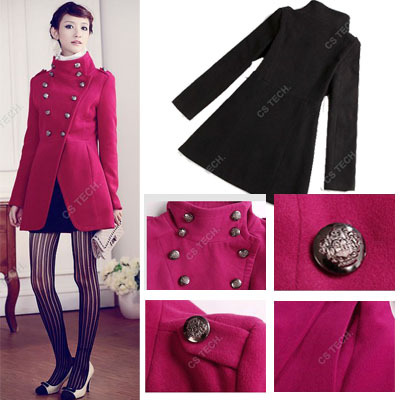 [C211] 2013 Women coat fashion overcoat/ military uniform double breasted winter coat /jacket outerwear/Military style JacketОдежда и ак�е��уары<br><br><br>Aliexpress