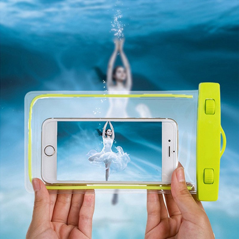 Premium Great PVC Luminous Waterproof Phone Case Cover For Iphone Water Proof Underwater Bag for iPhone6 All mobile Phone(China (Mainland))