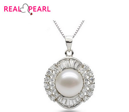 REAL PEARL 925 Silver 11-12mm Super Big Fashion Freshwater Pearl Pendant with Silver Snake Chain(China (Mainland))