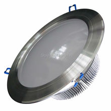 6in. AC85-265V RoHS CE FCC Approve 9*1W dimmable LED Flood Spot Light Downlight,Warranty 3 Years 4 PCs a lot(China (Mainland))