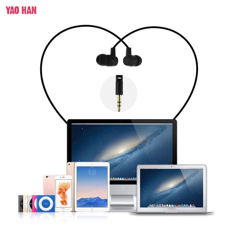 Wired Earphones Mini Portable Earphones Stereo Music Headphones Headset Without MIC No Bluetooth Universal Headset For Phones PC