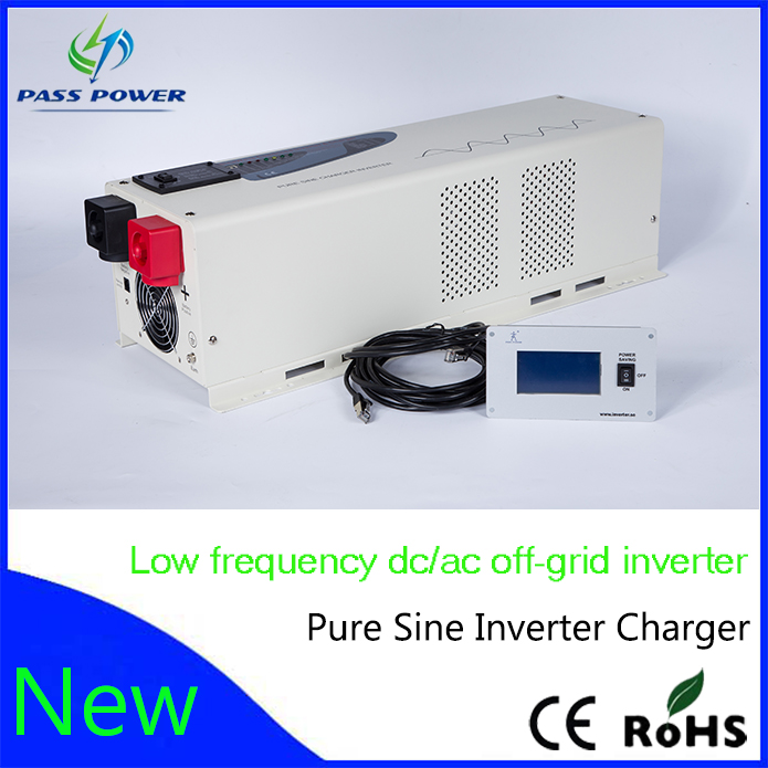 4000w pure sine wave off grid solar inverter charger 24v 48v UPS inverter solar inverter(China (Mainland))