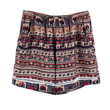 Super Sexy 2016 Summer Shorts font b Women b font Ladies Boho Short Femme Loose Vintage