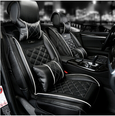New arrival! Special seat covers for Ford Fiesta 2014 fashion carbon fiber leather seat cover for Fiesta 2013-2008,Free shipping<br><br>Aliexpress