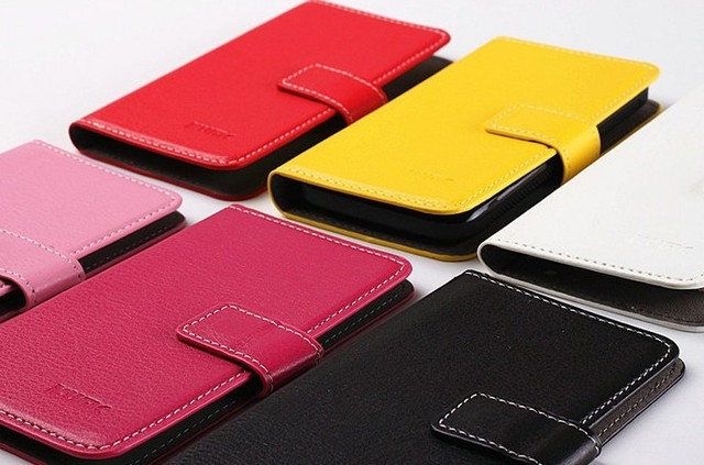 New Fashion colorful  Leather Case Cover For Gionee GN700w , free shipping