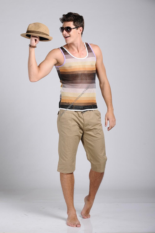 Xuba нового сексуального сетки хлопок топы лето мода прохладный тонкий установлены мужской топы тис спортивное спорт жилет XB404