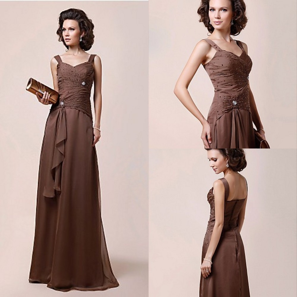 Chocolate Brown Dresses For Women