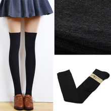 1 Pair Fashion Girls Ladies Women Sexy Thigh High Over The Knee Socks Long Cotton Stockings