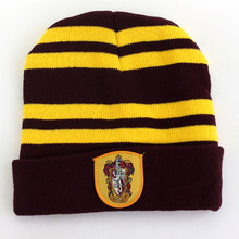 Winter hat Warm Beanies Knit Hats Women Knitted Ski Skullies Men Wool Caps Men kids Women Halloween christmas gift Harry Potter(China (Mainland))