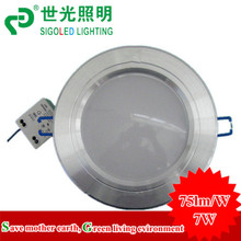 Free shipping  AC85-265V led down light, led down led celing lamp led recessed down light 5w(China (Mainland))