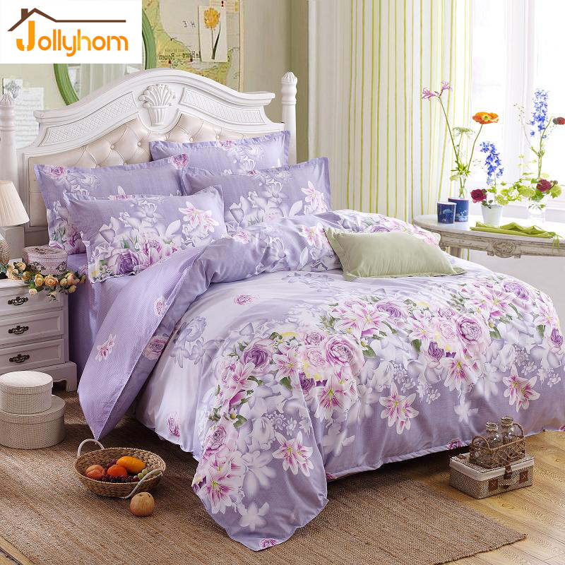 Hot Sale Home Textile 3 4pc Bedding Sets Size For Twin Full Queen King Home Hotel Bed Linen Bed