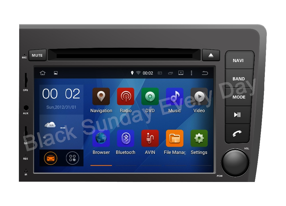 2016 Top Radio 1024*600 Quad Core 16G 7''Pure Android 5.1.1 Car GPS Navigation DVD for Volvo S60/V70 2001-2004 NEW Free Shipping(China (Mainland))