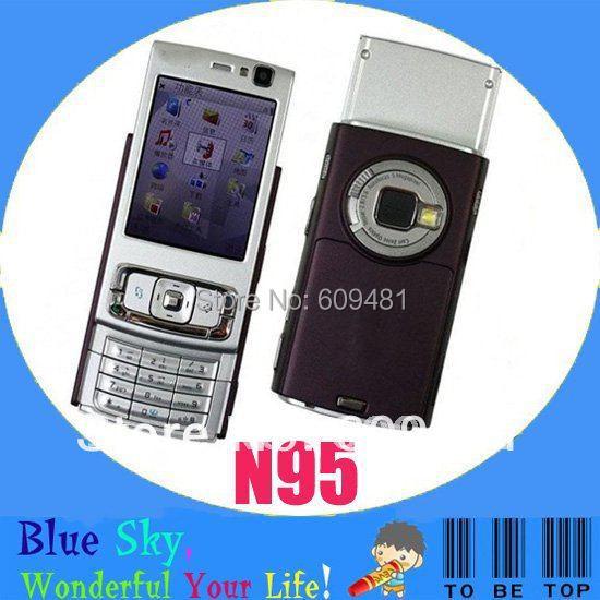 NOKIA N95 5.0MP camera GPS WIFI Original unlocked phone(China (Mainland))