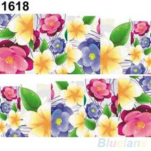 Beautiful Flowers Nail Art Nail Decals Water Transfer Stickers Decoration Hot 2JQJ