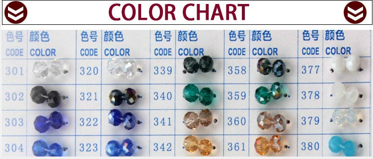 2mm AAA Bicone Beads 195pcs/lot  Crystal Glass Beads Supplier Small Mixed Color Beads DIY Jewelry Faceted Glass Crystal Spacer