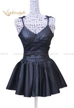 Kisstyle Fashion Future Diary Mirai Nikki Gasai Yuno Black Daily Dress Cosplay Costume,Customized Accepted